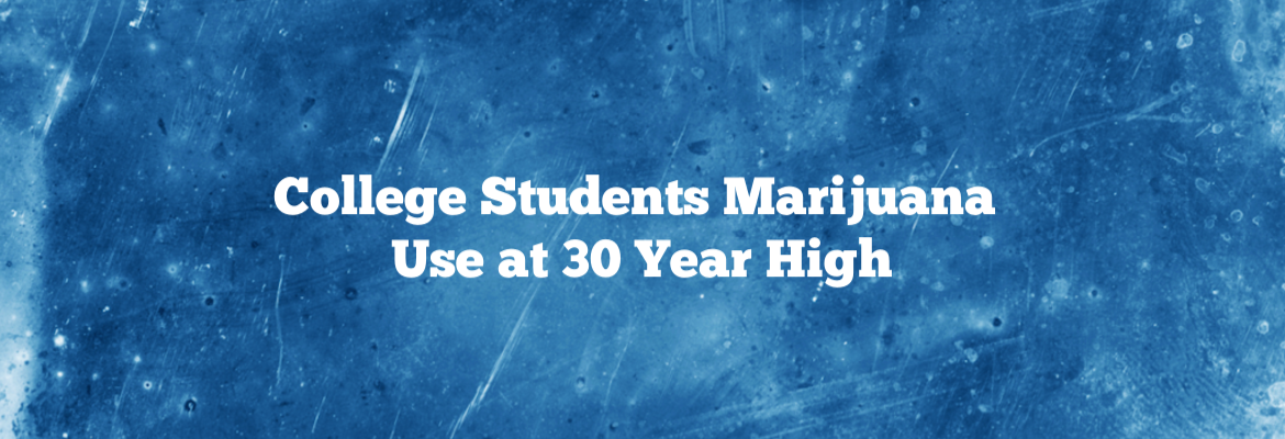 Michigan Researchers Find Alarming College Student Drug Use