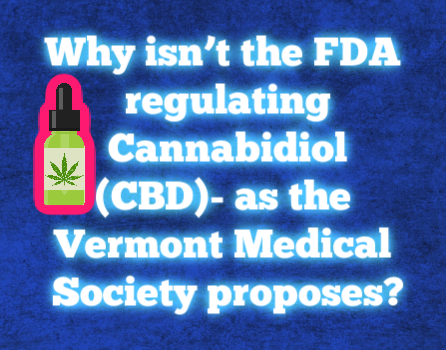 Vermont Medical Society Resolution on CBD